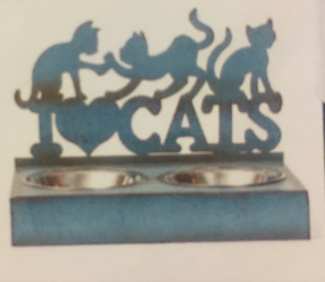 love cats food dish