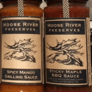 Moose River Preserves Spicy Mango and Sticky Maple