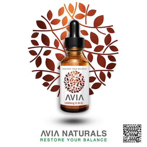 AVIA 1000mg CBD Oil