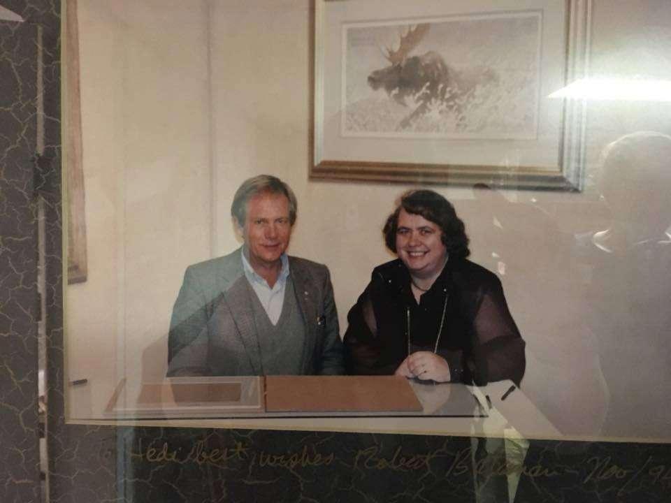 Hedi Nowak and Robert Bateman - 1997