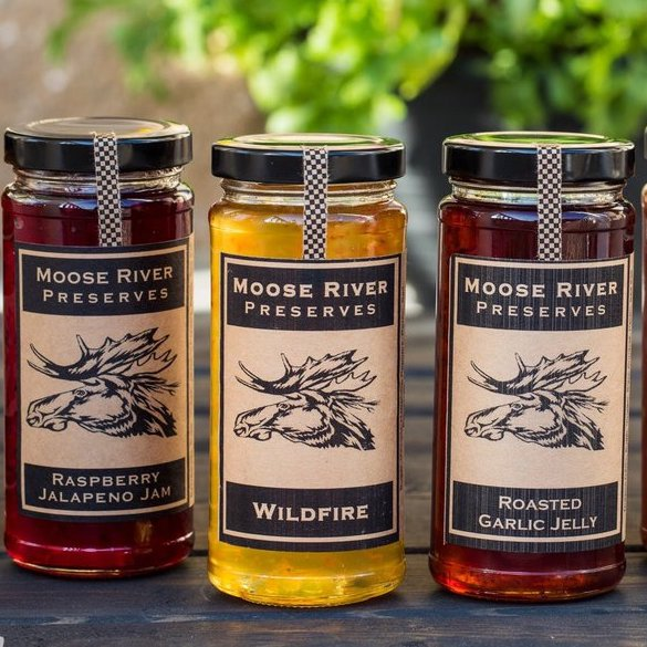 Moose River Preserves Jelly Selections