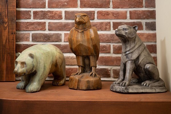 Novearu bear, eagle and wolf - The Gallery Upstairs