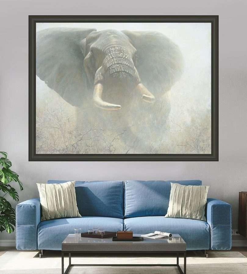 Robert Bateman - Tembo with Furniture