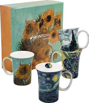 Van Gogh Mugs - Set of 4