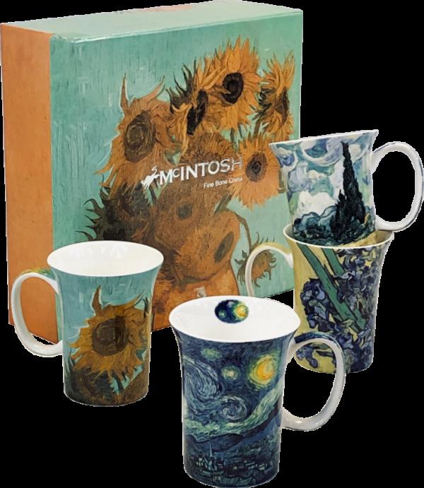 Van Gogh Mugs - Set of 4