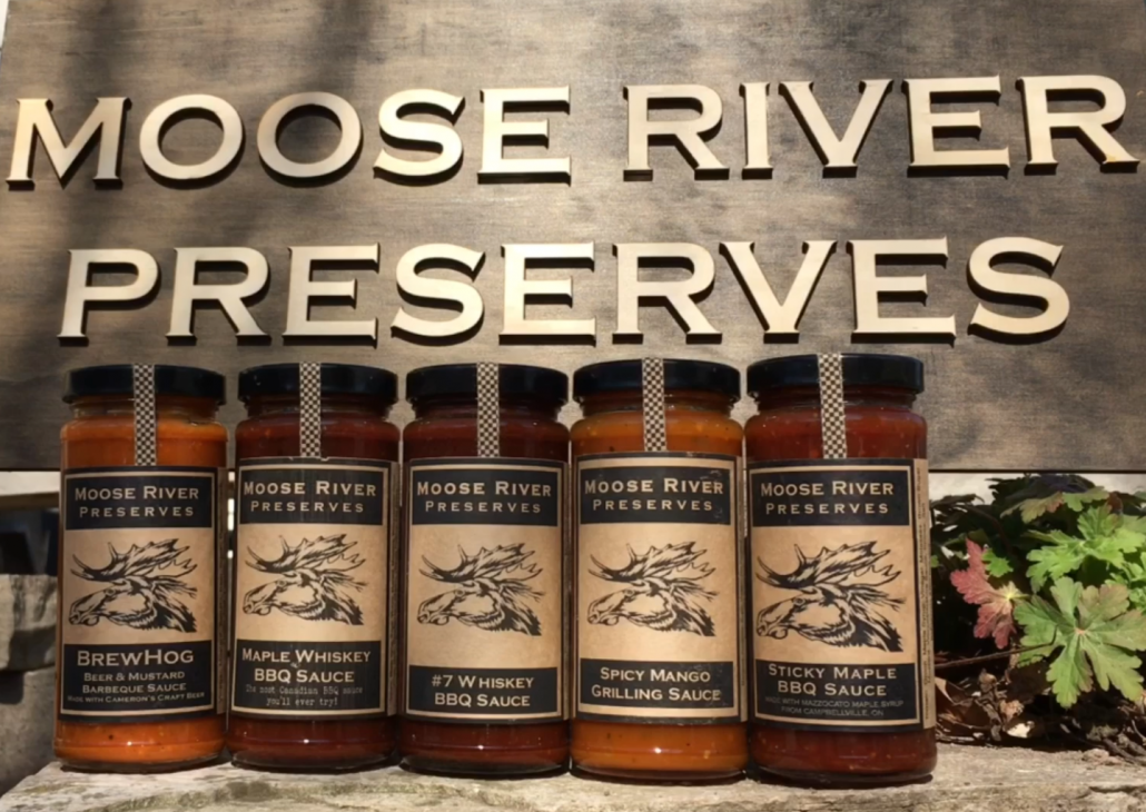 Moose River Preserves BBQ sauces