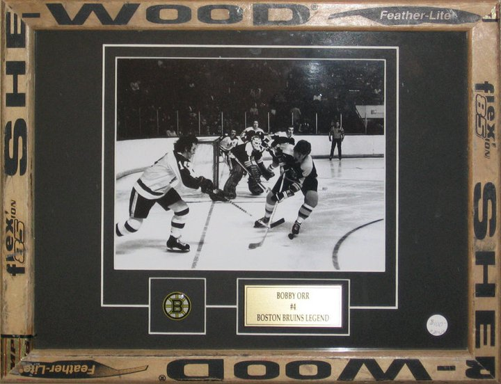 custom framing - Bobby Orr Hockey
