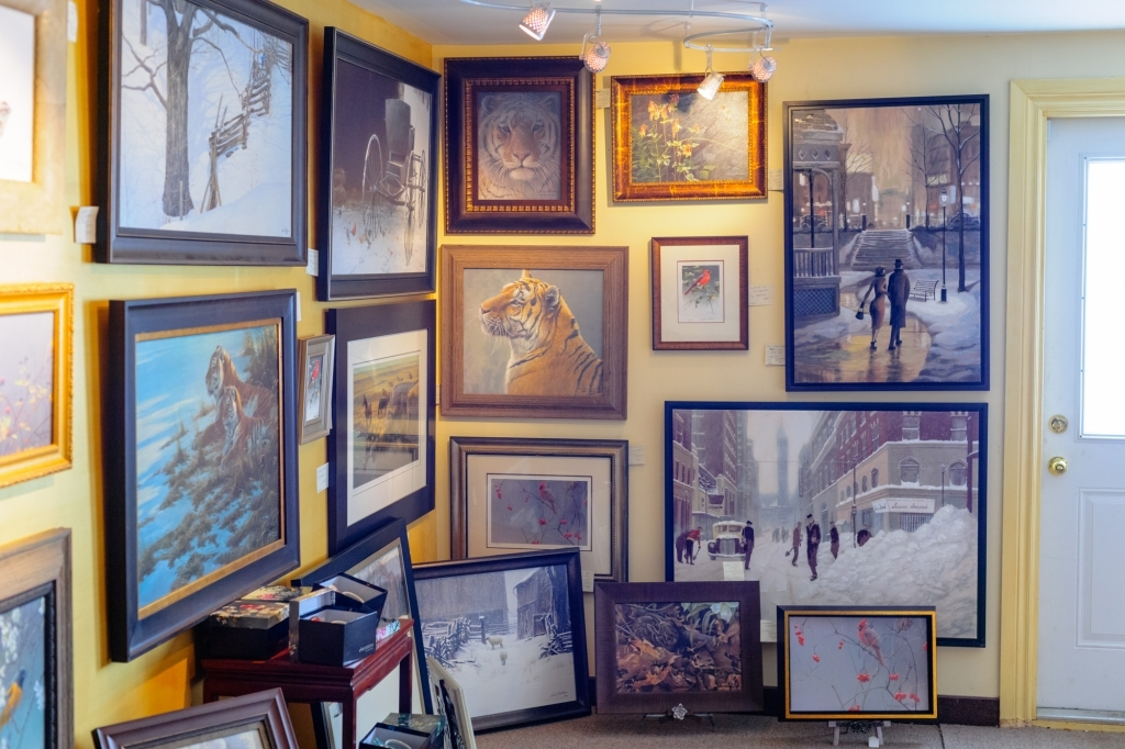 custom framing services - The Gallery Upstairs