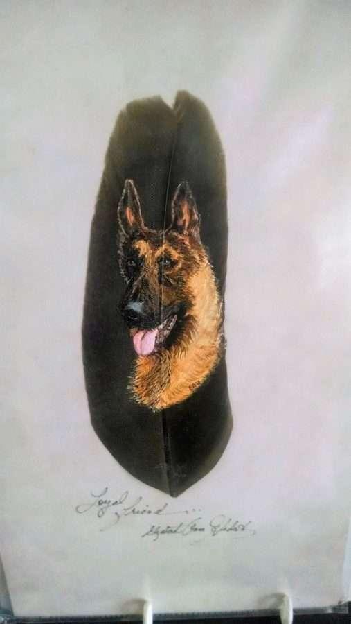 Dog Portrait - Betty Hebert