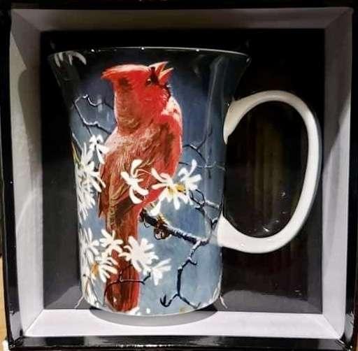 Bateman- Cardinal single mugs