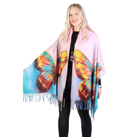 Butterfly fashion scarf