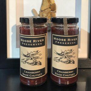 Cranberry Sage Chutney