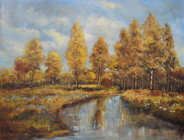 Fiona Hoop_by-the-pond-48x60