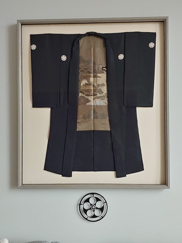 Kimono frame from The Gallery Upstairs