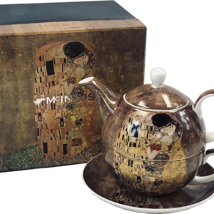 Klimt The Kiss Tea For One set
