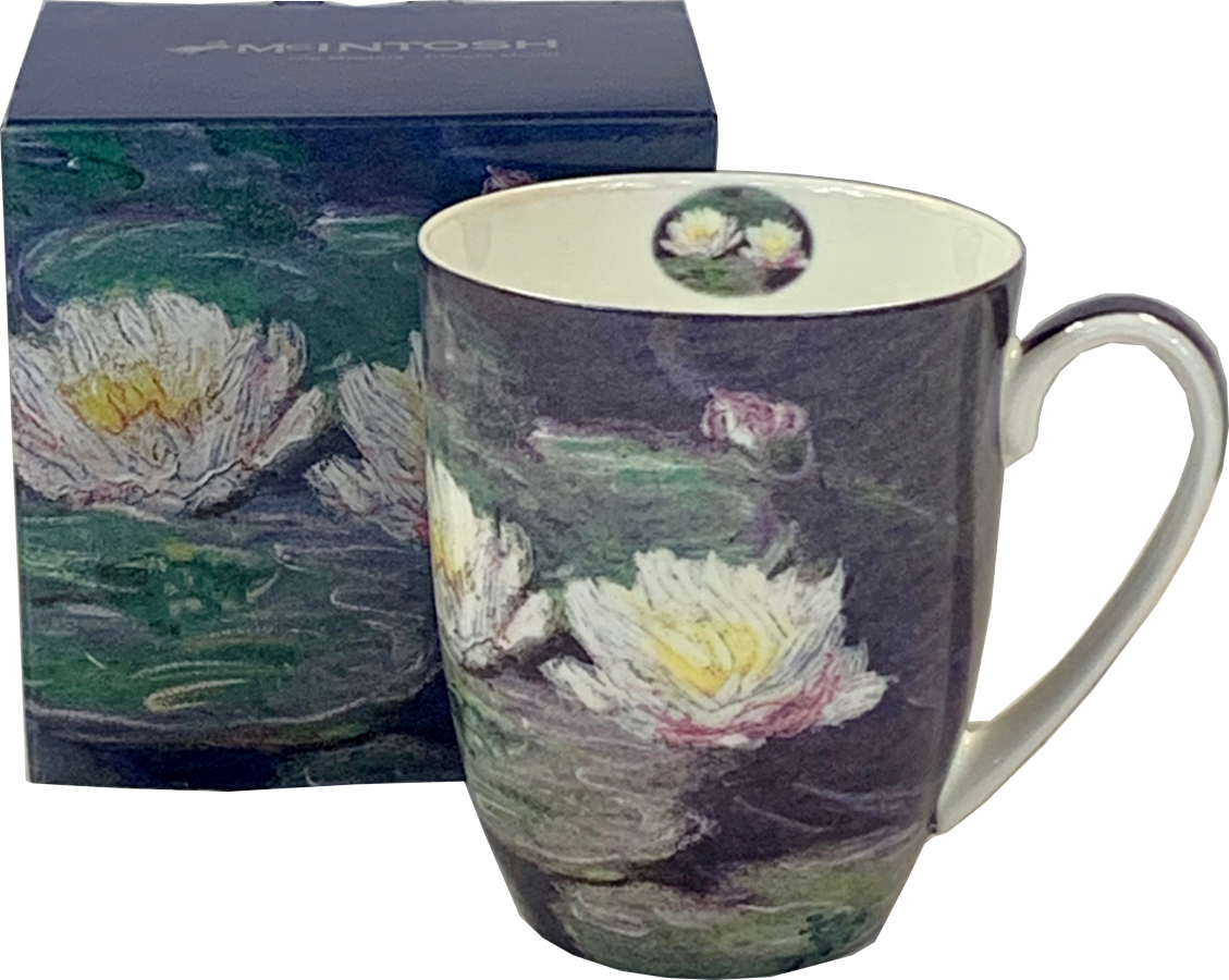 Monet Water Lilies Java Mugs