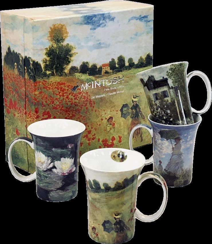 Monet Mugs - Set of 4