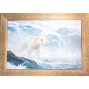 Robert Bateman Salmon Watch Spirit Bear