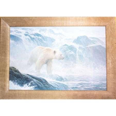 Robert Bateman Salmon Watch Spirit Bear