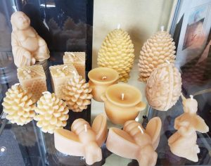 The Gallery Upstairs Beeswax candles
