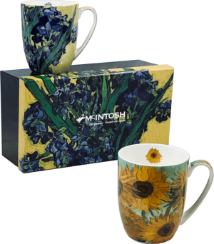 Van Gogh Flowers Mug Set of 2