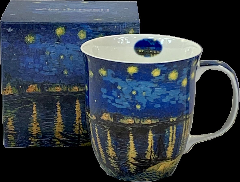 Van Gogh Starry Night Over The Rhone Java Mug