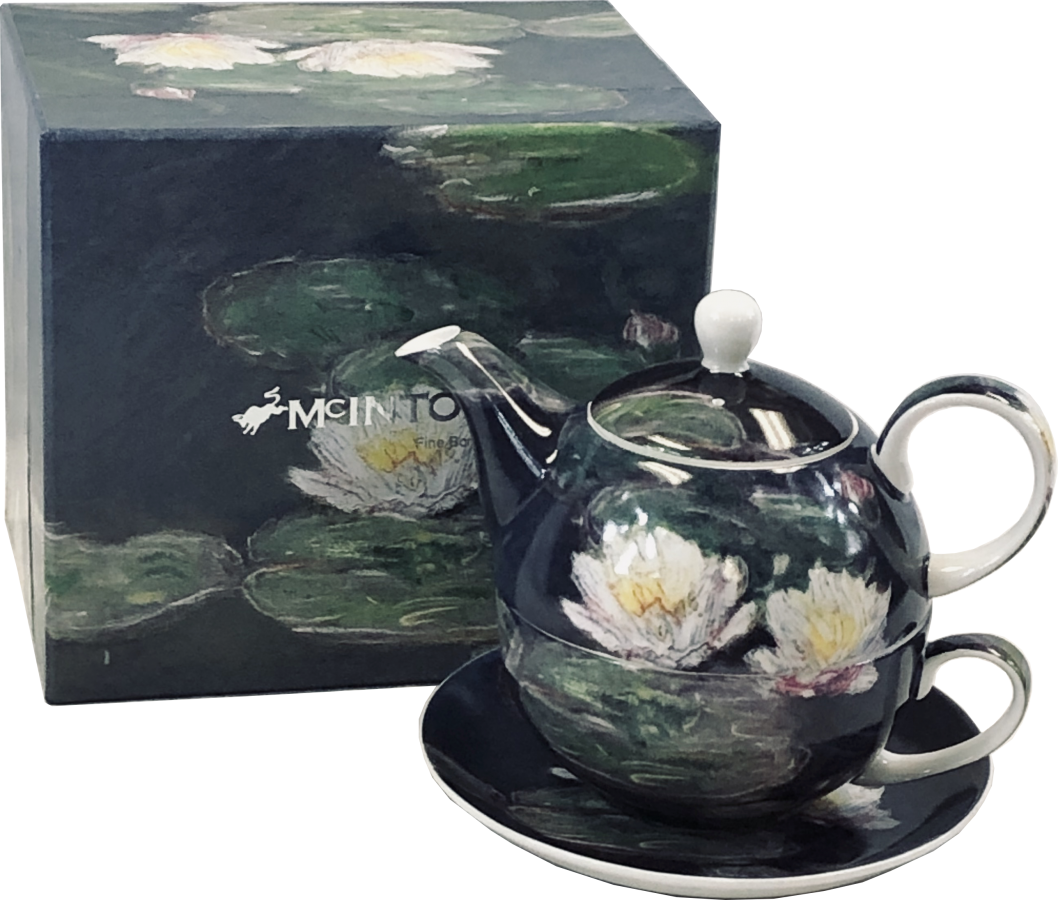 Water Lilies Tea for One Set