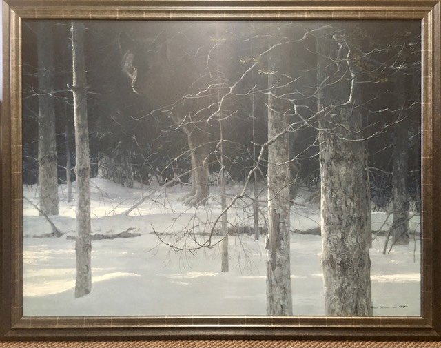 Midnight Black Wolf Robert Bateman