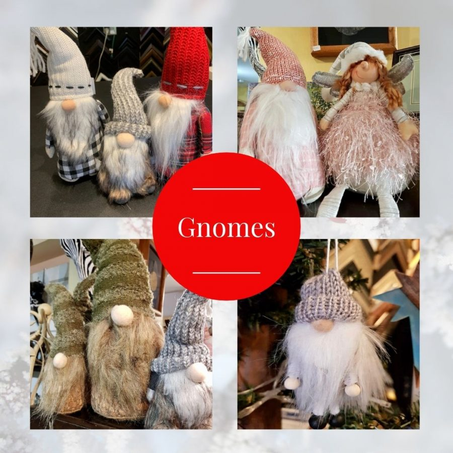 Gnomes available at The Gallery Upstairs