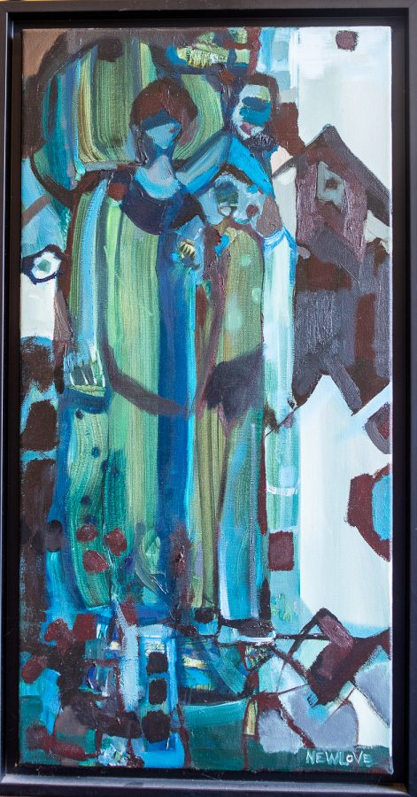 Stepping Out by Canadian artist Tina Newlove