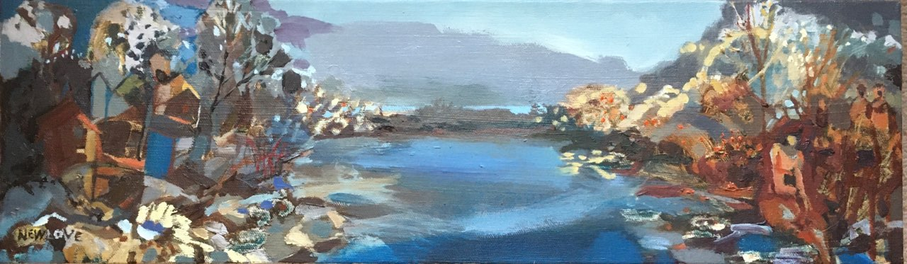 Waters Edge by Tina Newlove