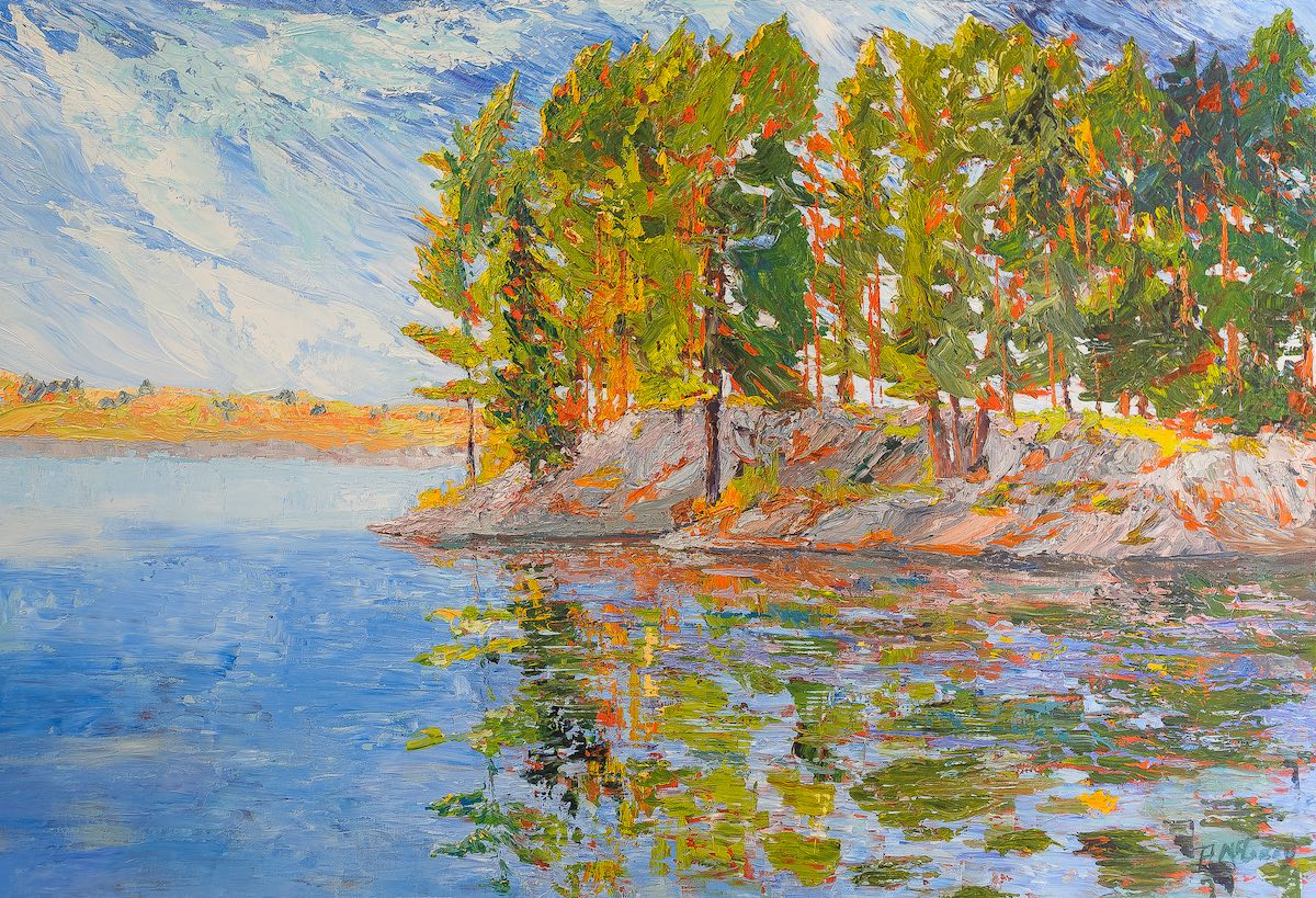 Algonquin Reflections by Pat McGoey