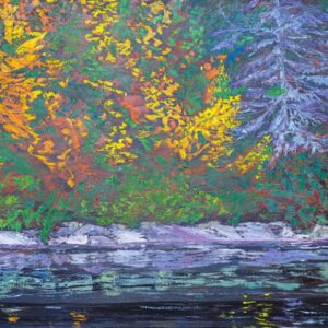 Along the River by artist Pat McGoey