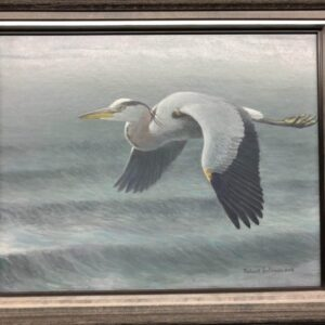 Robert Bateman - Great Blue Heron_SOLD