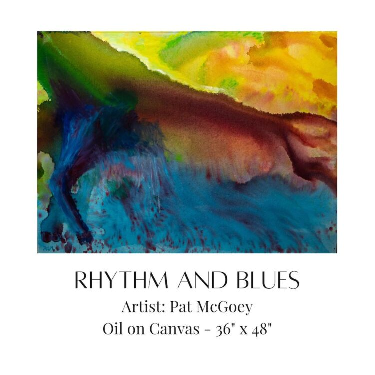 Rhythm and Blues by artist Pat McGoey available at The Gallery Upstairs
