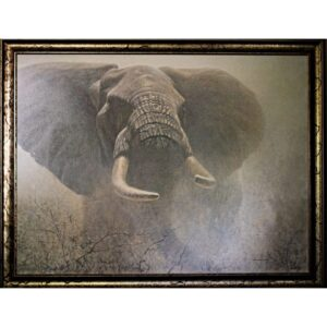 Tembo by nature artist Robert Bateman