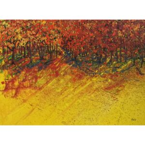 Yellow Notes by artist Pat McGoey available at The Gallery Upstairs