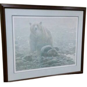 End of Season Grizzly by nature artist Robert Bateman
