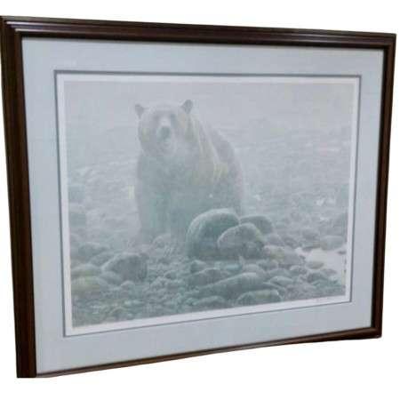 End of Season Grizzly by nature artist Robert Bateman