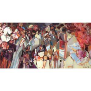 Flowers for Every Occasion by artist Tina Newlove - Original Art