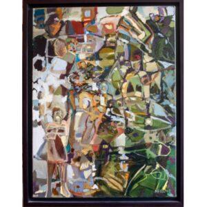 Here, There, Everywhere by artist Tina Newlove - Original Art