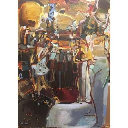 Restless Energy by artist Tina Newlove - Original Art