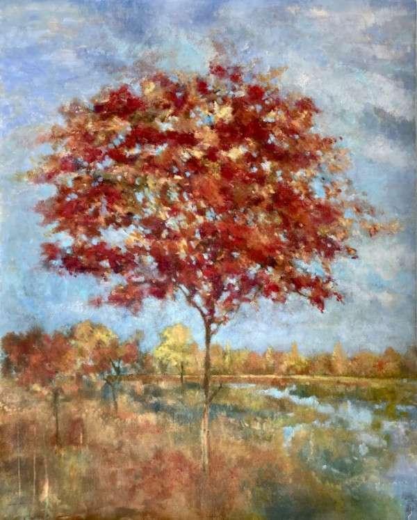 Rivers Edge - Fiona Hoop orignal acrylic on canvas artwork