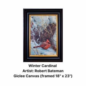 Winter Cardinal by Robert Bateman