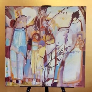 Coming Together Again by artist Tina Newlove available at The Gallery Upstairs