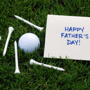 Happy Father's Day Gift Card from the Gallery Upstairs - golf