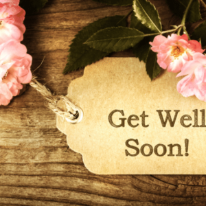 Get Well Soon Gift Card from the Gallery Upstairs