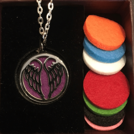 Angel Wing Diffuser Necklace