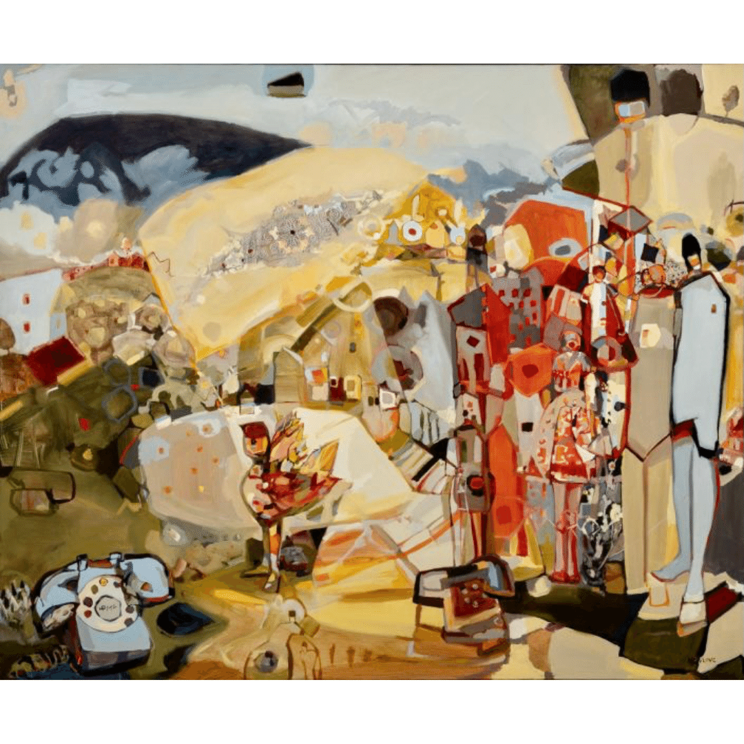 Calling Home by artist Tina Newlove