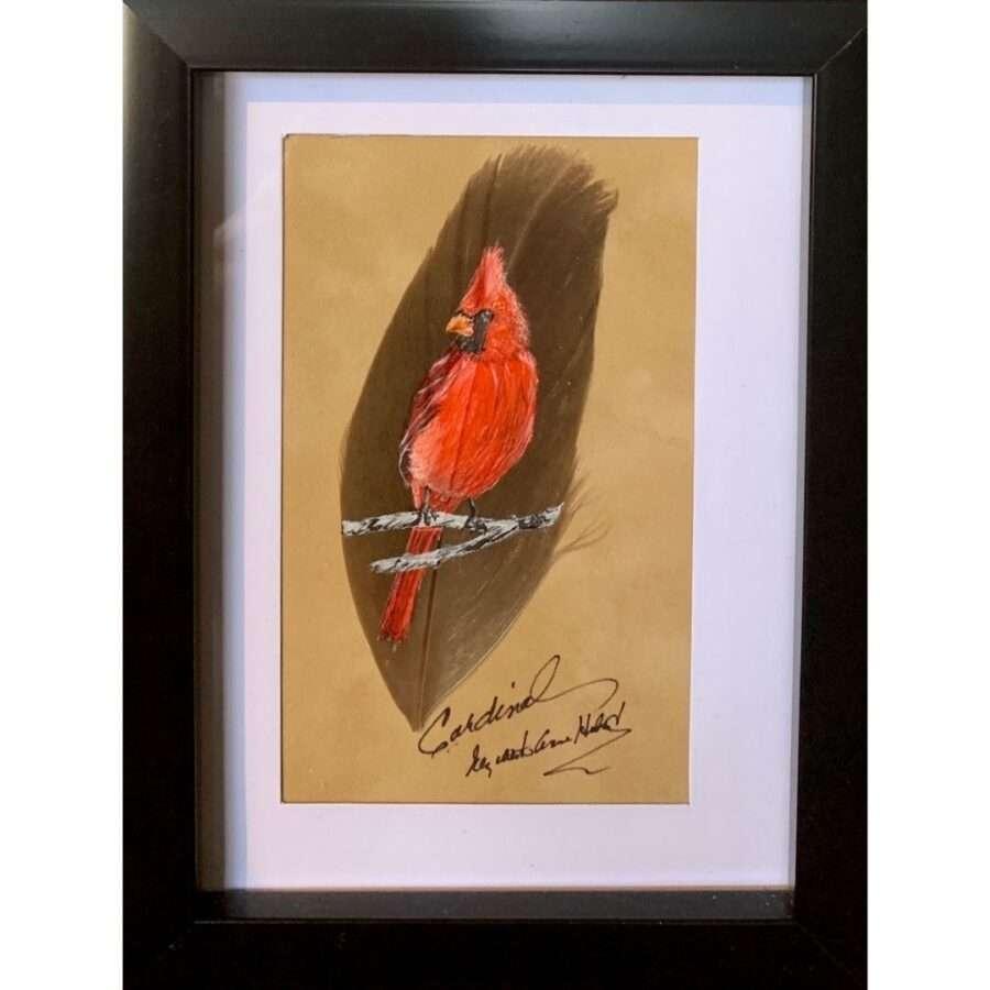Cardinal 4 by artist Betty Hebert